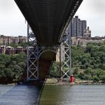 Little Red Lighthouse & Great Gray Bridge © Bob Pliskin 2013