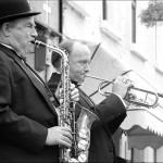 Musician, Street Fair, Newport, Mayo © Bob Pliskin 2013